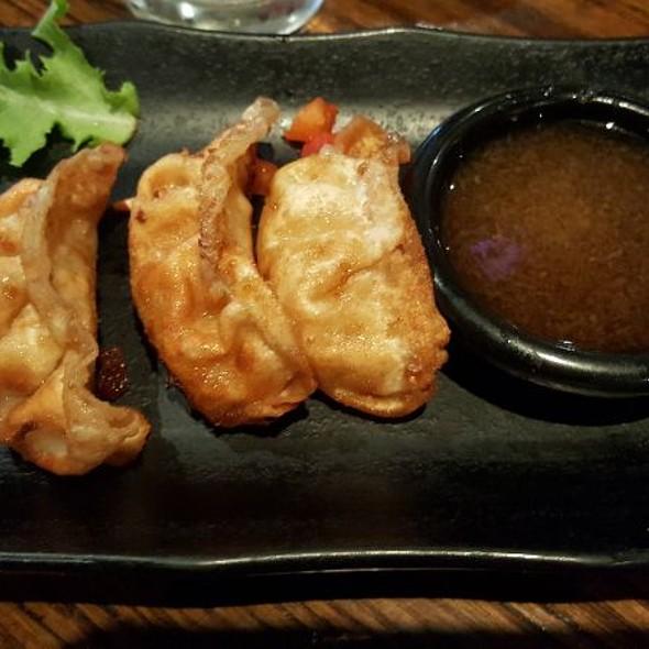 Fried Shrimp Gyoza Dumplings @ Gyu Kaku Houston