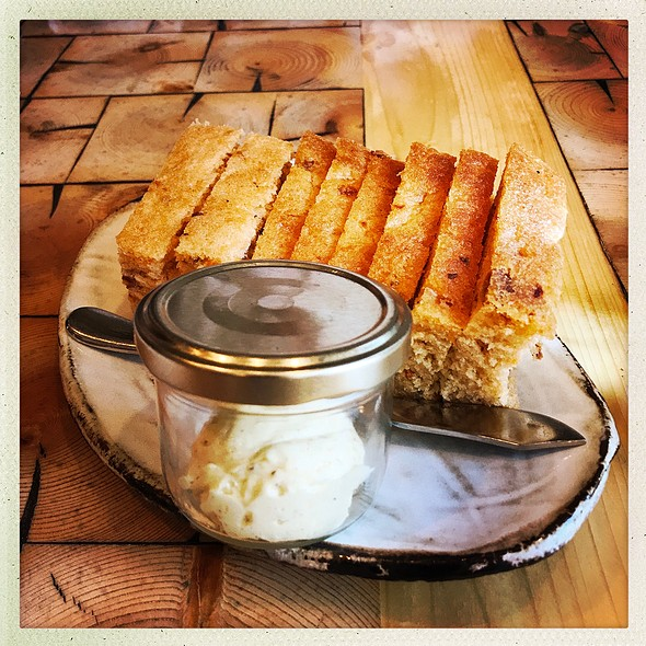 Homemade Bread With Soft Aromatic Butter