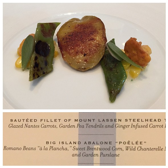 Big Island Abalone Poelee @ The French Laundry