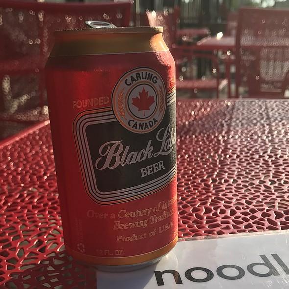 Carling Black Label @ Noodlecat