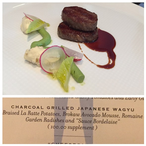 Charcoal Grilled Japanese Wagyu @ The French Laundry