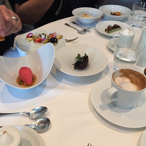 Assortment Of Desserts  @ The French Laundry