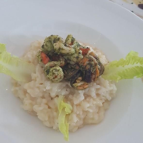 Risotto Alla Pescatora (Seafood Risotto) @ Acqua at Shangrila Hotel and Resort