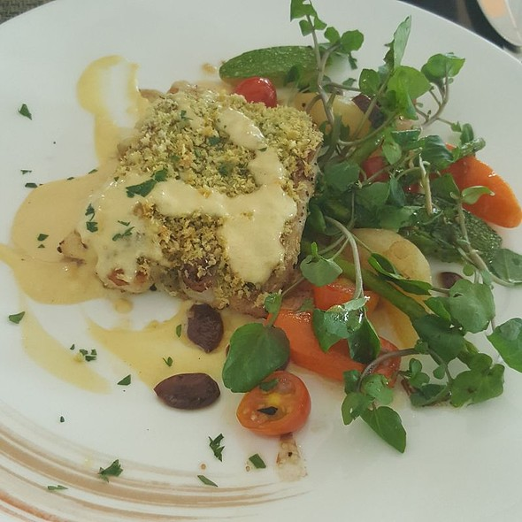 Crusted Seabass @ Acqua at Shangrila Hotel and Resort