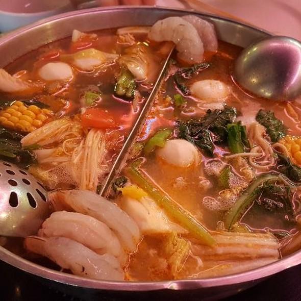 Seafood HotPot @ Tan Tan Restaurant On Westheimer