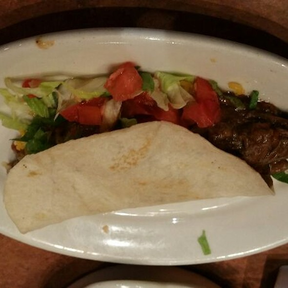 Sliced Steak Taco @ Abuelo's Mexican Food Embassy