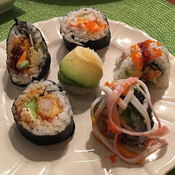 Homemade Sushi @ My Cucina