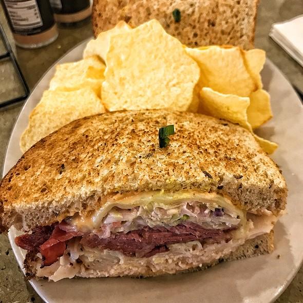 Grilled Rachael Sandwich @ Jason's Deli