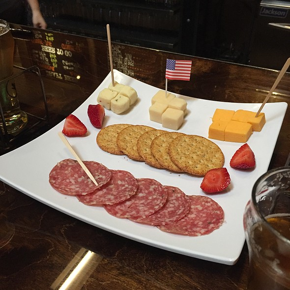 Salami & Cheese Plate