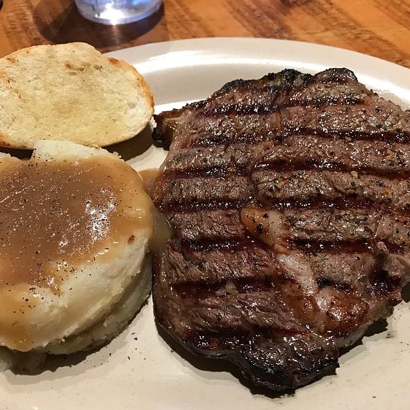 Ribeye Steak @ Cowboy's Lodge & Grill