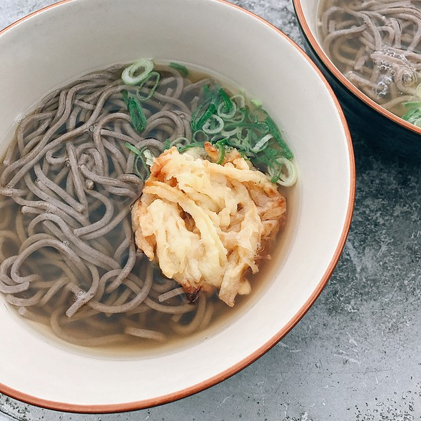 Soba Noodles With Tempura