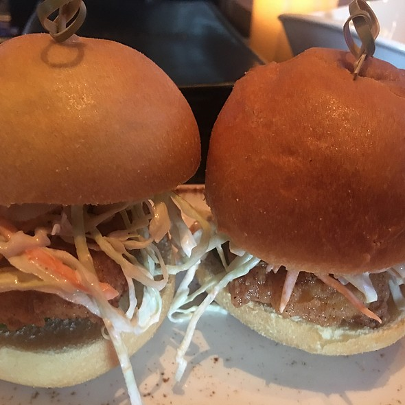 Hot Fish Sliders