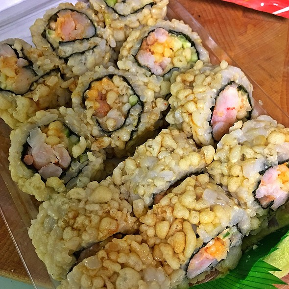 Crunchy Rice And Shrimp Roll @ Publix Super Market at Roosevelt Square Shopping Center