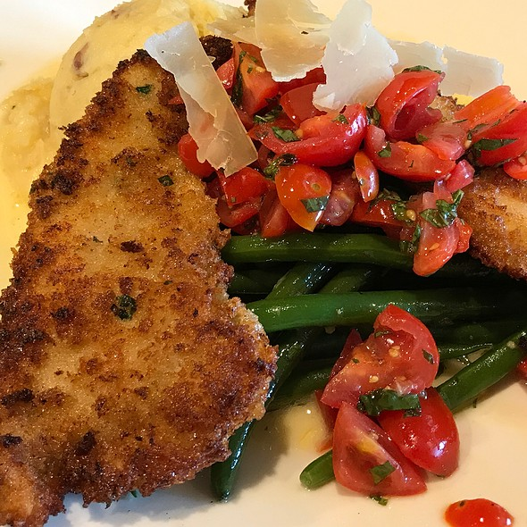 Parmesan Crusted Chicken @ Cooper's Hawk Winery & Restaurant