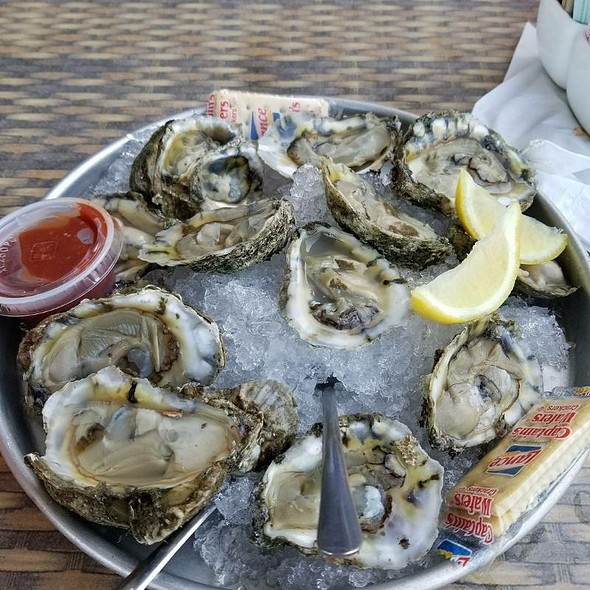 Oysters @ The Waterfront Beach Resort