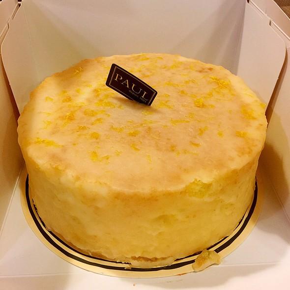 檸檬糖霜磅蛋糕 @ PAUL