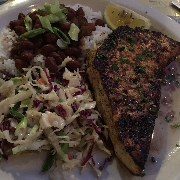 Blackened Swordfish Special