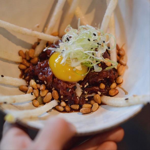 Korean Steak Tartare @ Restaurant Fandado