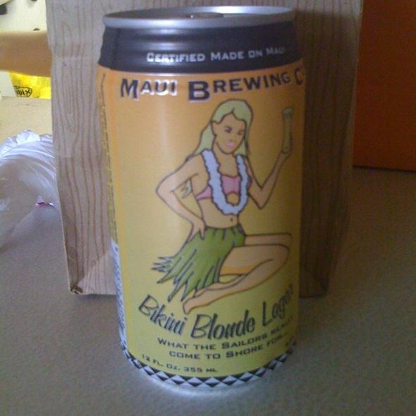 Bikini Blonde Lager @ Safeway