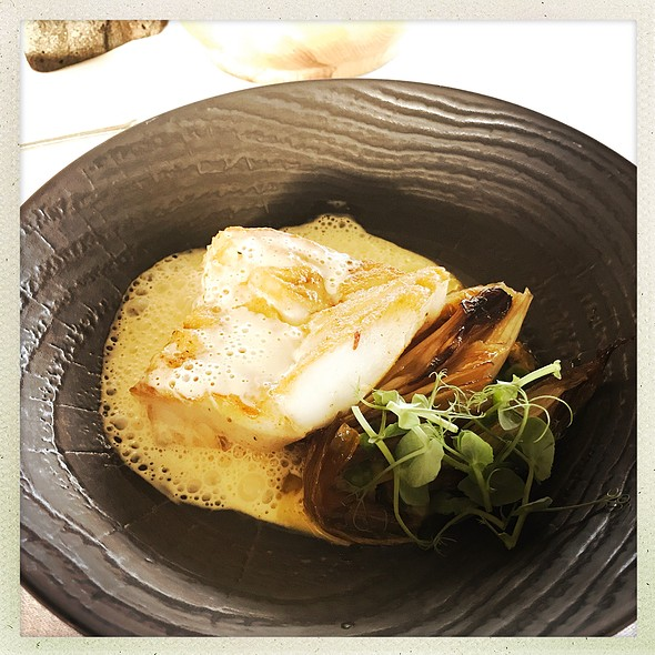 Cod, Green Peas And Mussels