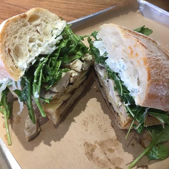 Sonoma Chicken Sandwich @ Split Bread