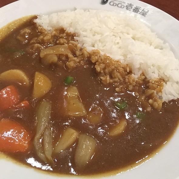 Vegetable curry @ Coco Ichibanya Curry House
