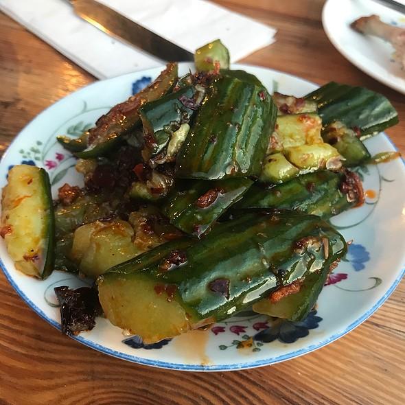 Hunan Style Cucumbers