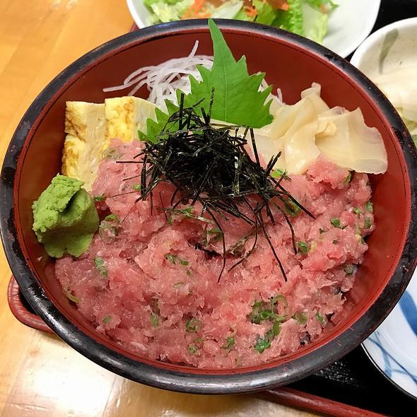 Negitoro Don @ Michinoku Restaurant