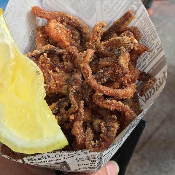 Fried Squid Tentacles