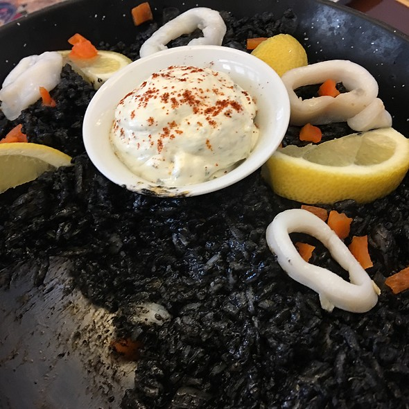 Paella Negra Squid Ink @ Sans Rival Cakes and Pastries