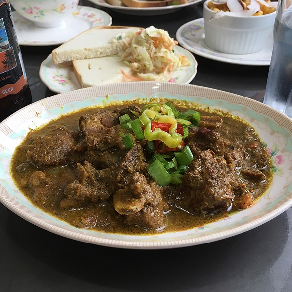 Goat Curry @ Caribbean Canteen