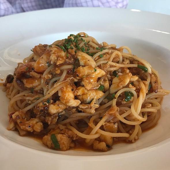 Spanner Crabmeat Spaghetti