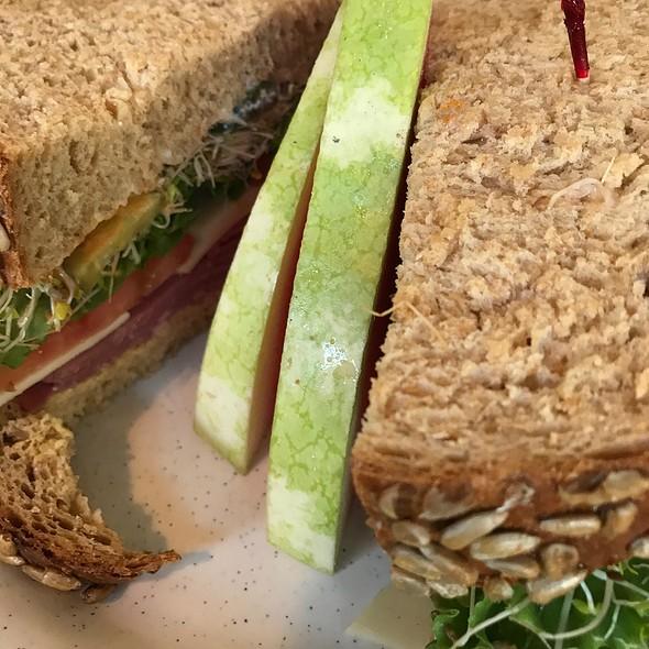Pastrami Sandwich @ Cafe Mezzo