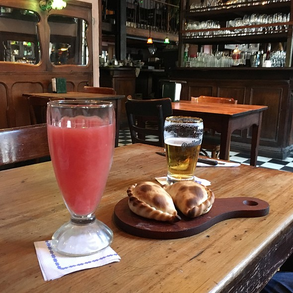 Pomelo Juice And Gluten Free Empanadas @ Bar Seddon