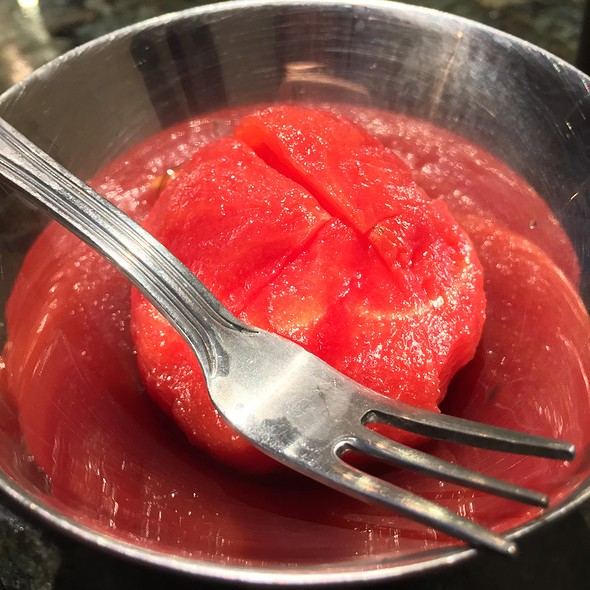 Sweet Cold Tomato