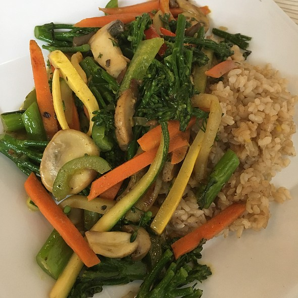 Curry Coconut Vegetable Stir Fry