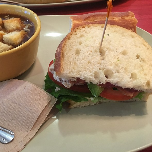 Turkey Blt And French Onion Soup @ Panera Bread