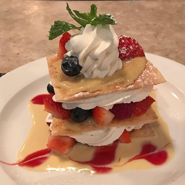 Fresh Berry Napoleon