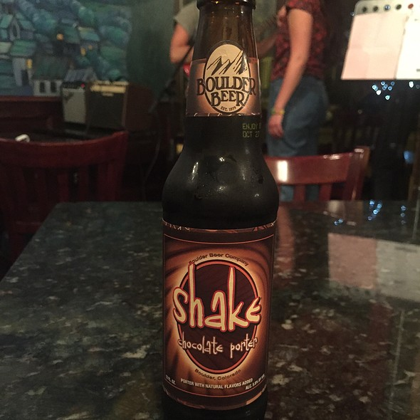 Shake Chocolate Porter Boulder Beer