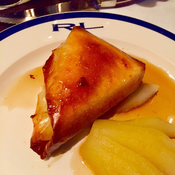 Peach And Brie Crepe @ RL Restaurant