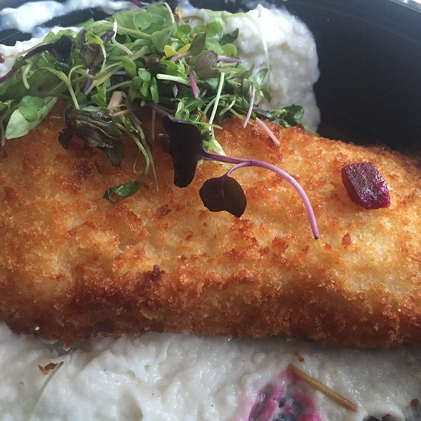 Crispy Cod With Skordalia And Beets