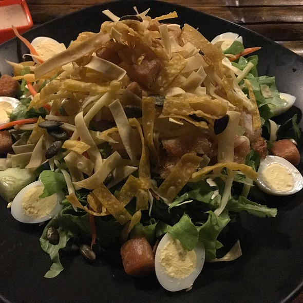 Thai Salad With Chicken And Chilli