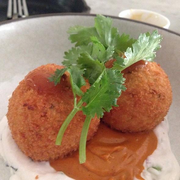 Butter Chicken Crispy Rice Balls @ Birch