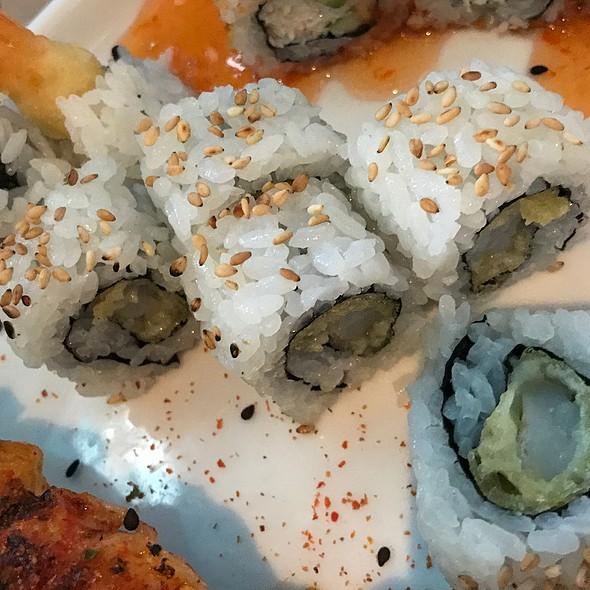 Shrimp Tempura Sushi Roll @ Blue Sushi Sake Grill