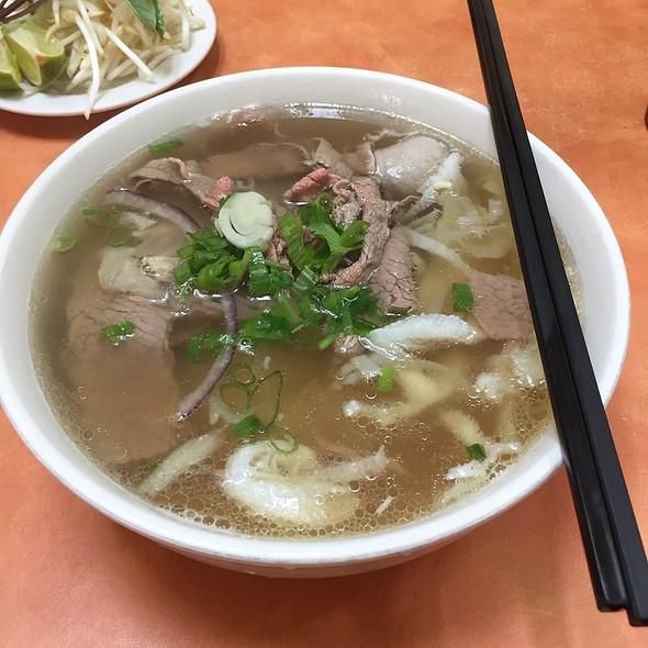 PPQ Beef Noodle Soup @ Pho Phu Quoc PPQ Beef Noodle House