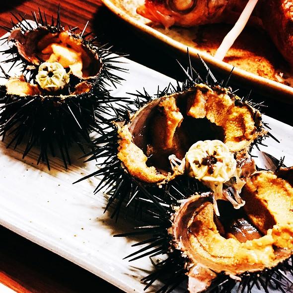 Uni (sea Urchin) @ ちはせ川温泉