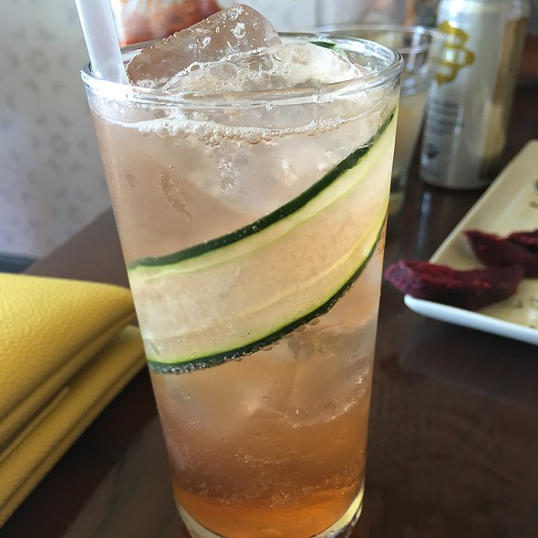 Cucumber Aperol Spritz