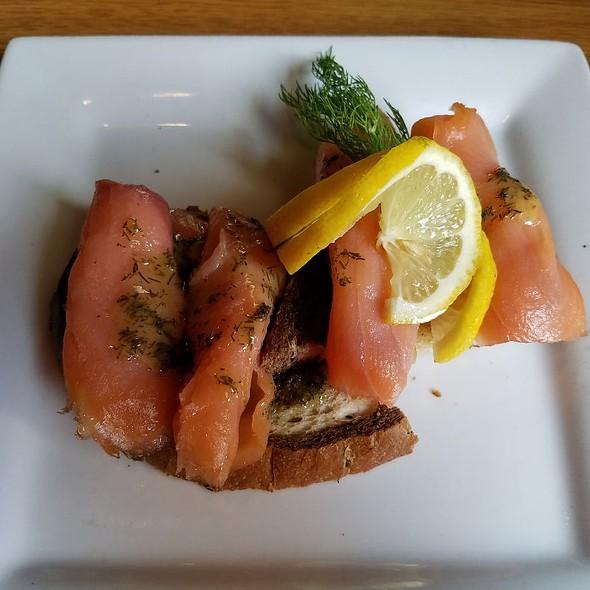 Smoked Salmon On Toast Points