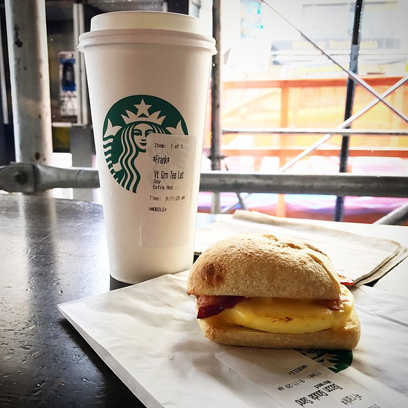 Bacon Gouda Breakfast Sandwich @ Starbucks