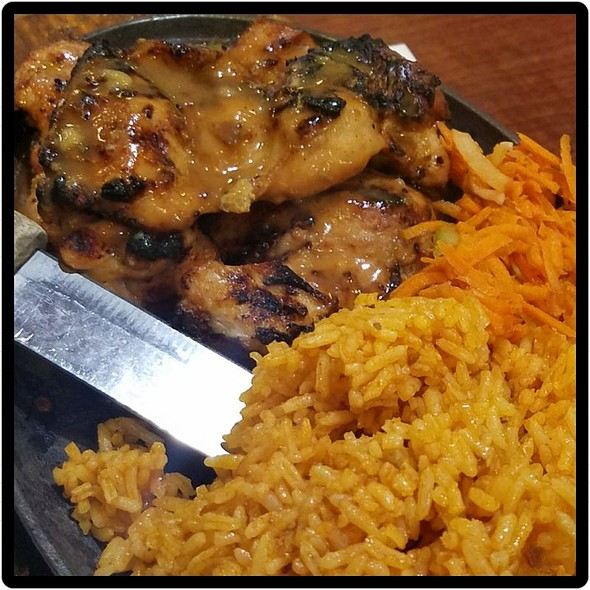BBQ Chicken with Java Rice